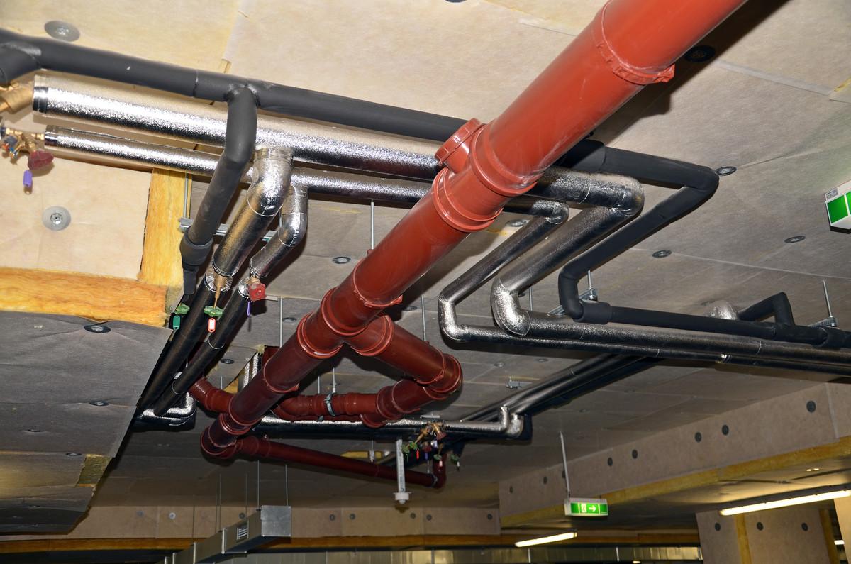 Détartrage et désinfection des canalisations d'immeubles